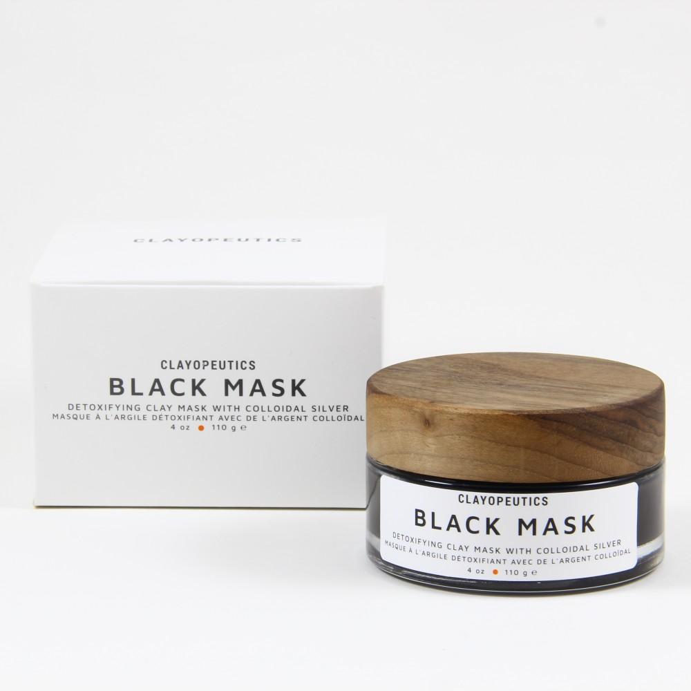 Clayopeutics Black Mask