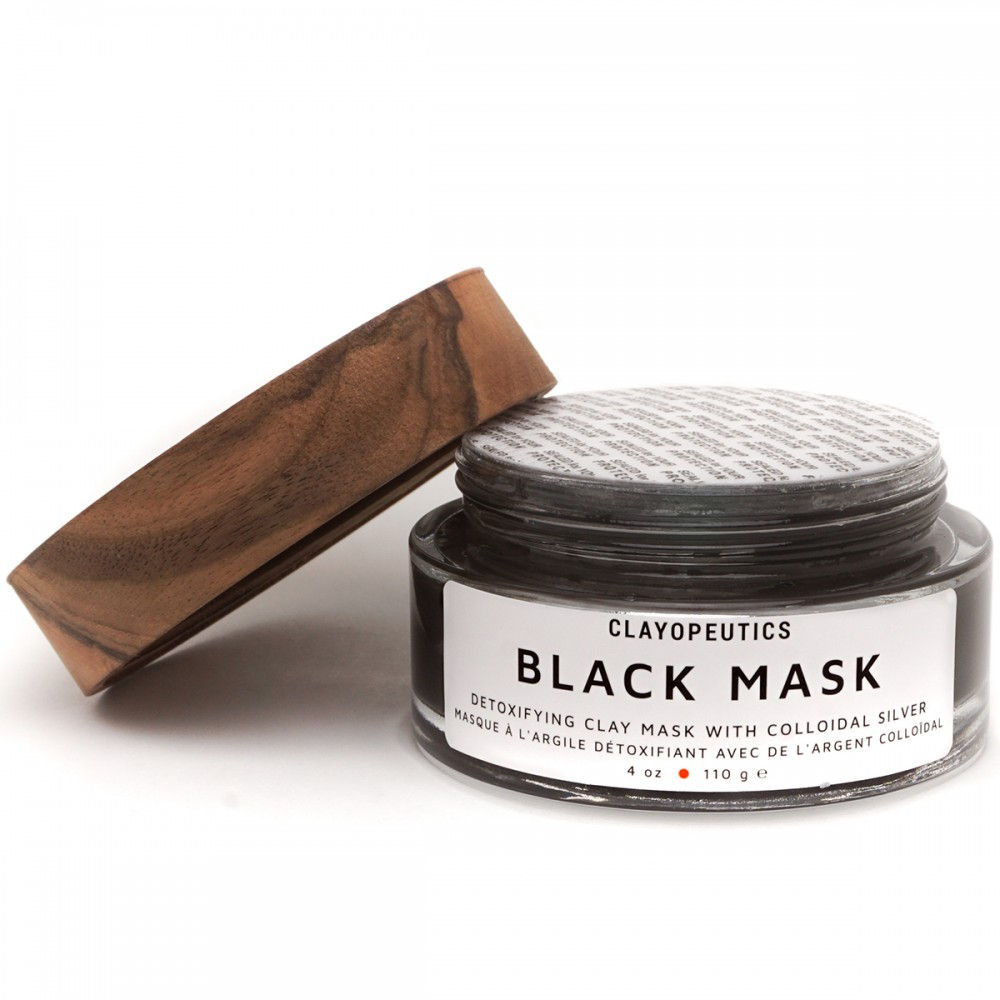 Clayopeutics Black Mask