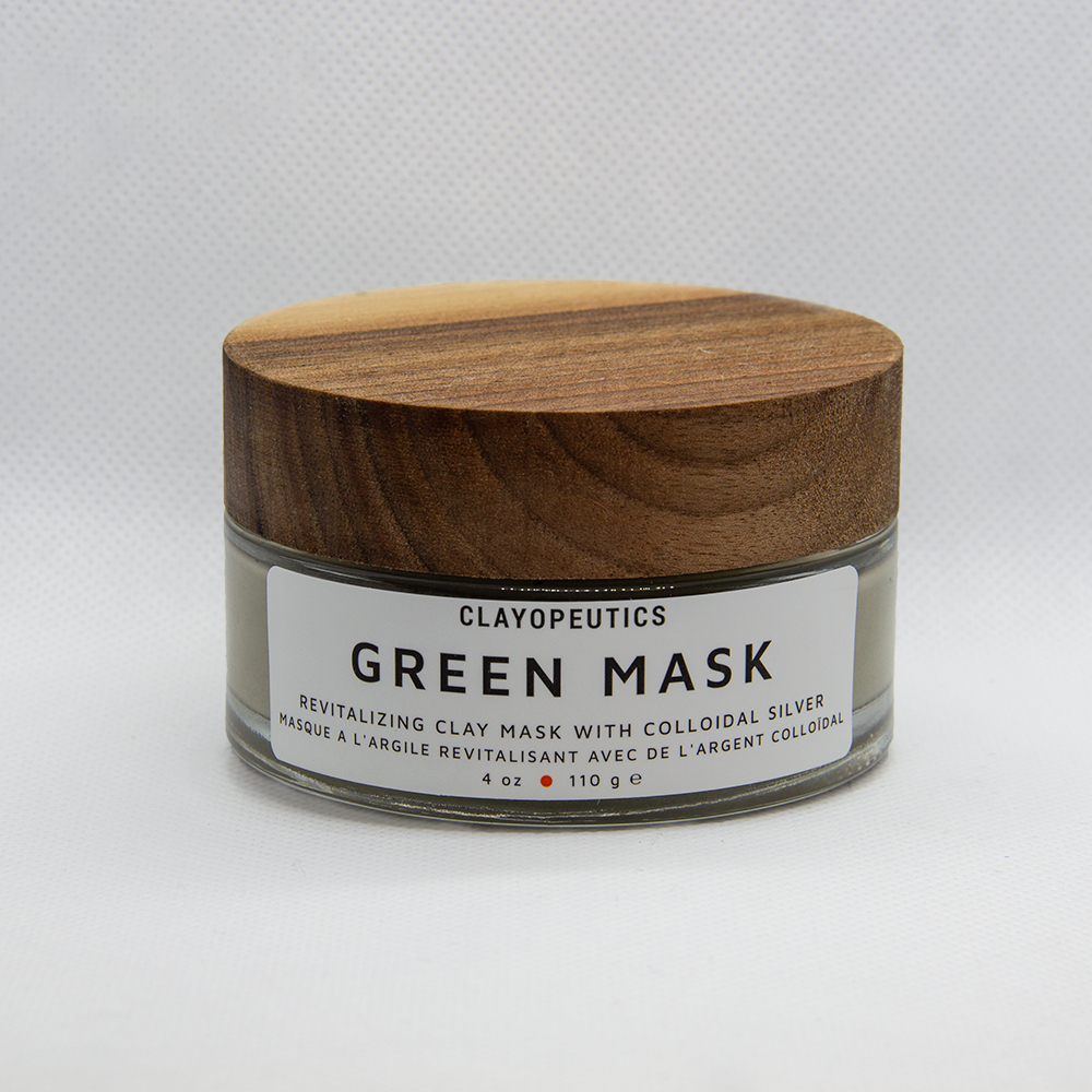 Clayopeutics Green Mask