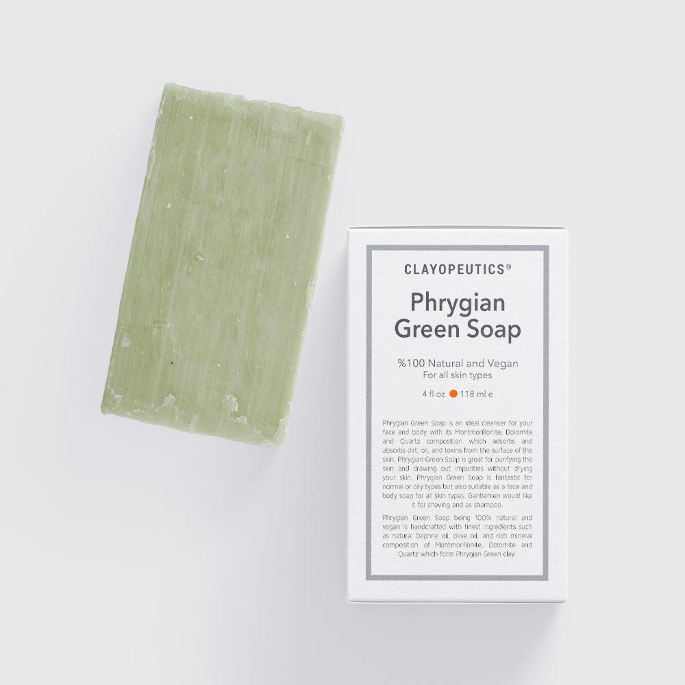 Phrygian Green Soap
